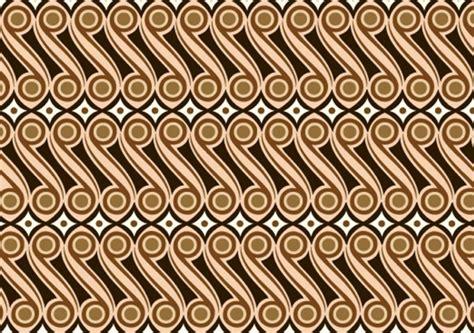 27 contoh gambar ragam hias geometris pada batik indonesia