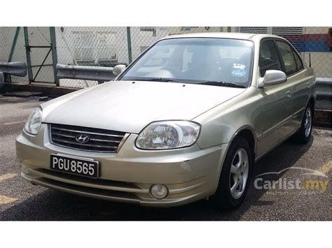 2006 hyundai accent for sale in malaysia for rm7 600 mymotor hyundai accent 2006 l 1 5 in penang automatic sedan gold for rm 8 900 3781681 carlist my