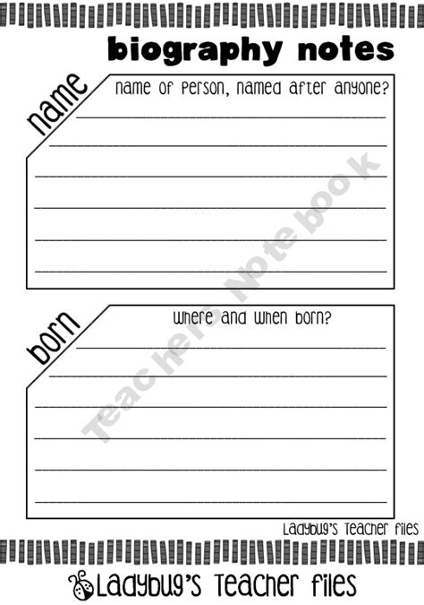biography graphic organizer worksheets this collection of graphic organizers is designed to help