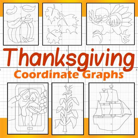How Some Of Our Favorite Celebrate Thanksgiving by 17 Best Images About Thanksgiving Coordinate Graphs On