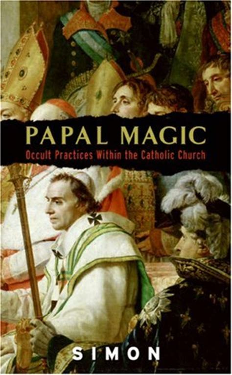showing magic 3 books papal magic occult practices within the catholic church