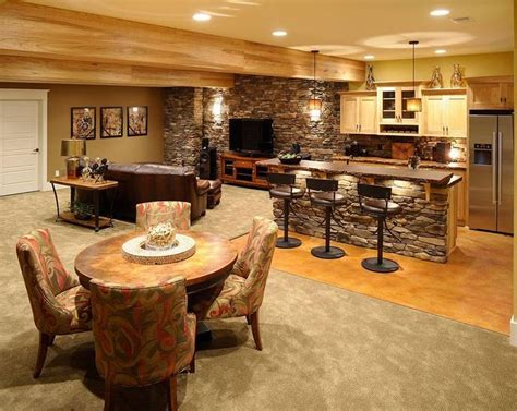 25 best ideas about finished basement bars on