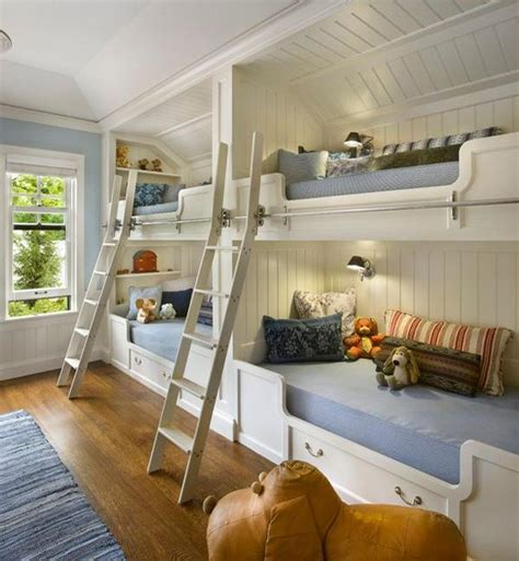 bedroom ideas with bunk beds four bunk beds for kids room design maximizing space and