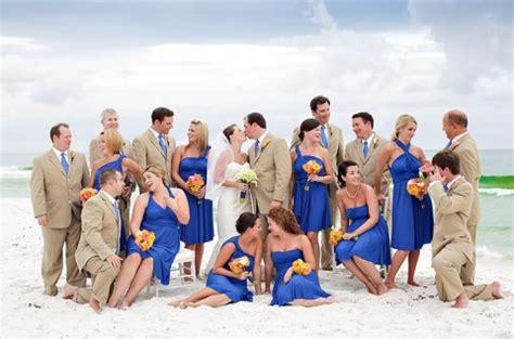 55 Awesome Blue Beach Wedding Ideas   HappyWedd.com