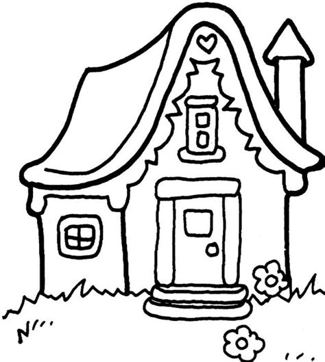 house items coloring pages cartoon house coloring pages coloring home
