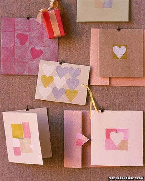 martha stewart card ideas hearts and blocks valentines martha stewart