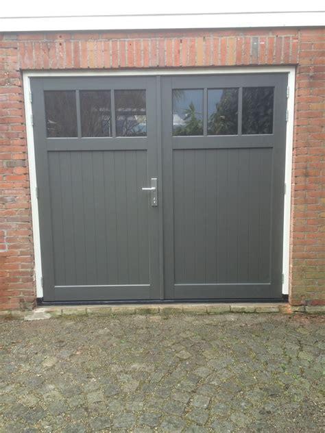 Houten Openslaande Garagedeuren by Hardhouten Openslaande Garagedeuren Different Doors