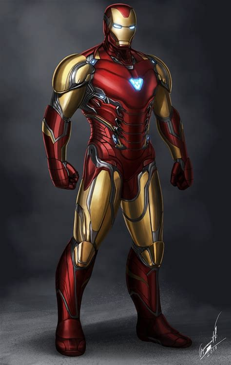 iron mans suit endgame compared