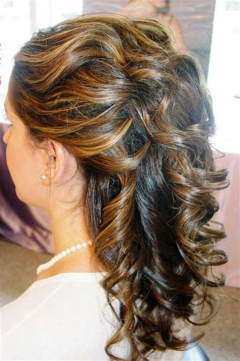 curls half up half down hairstyles medium length hair 39 half up half down hairstyles to make you look perfect