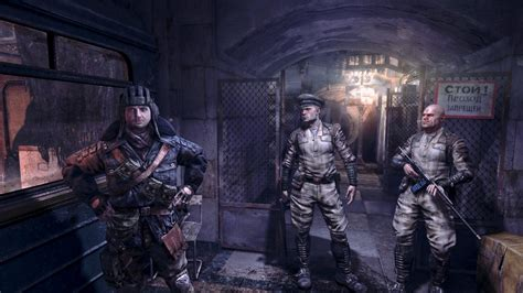 Metro Light by Visually Screenshots Of Metro Last Light Gamer