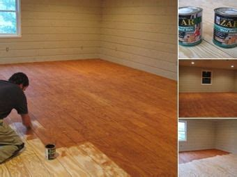 awesome varnished wood flooring in plywood cut in planks stained is awesome inexpensive flooring remodeling mobile home on a