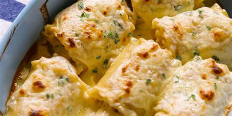 extreme chicken alfredo roll ups tasty recipes