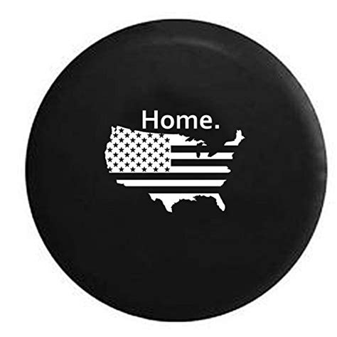 Jeep Tire Covers Jeep United States American Flag Home Spare Tire Cover