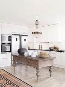 Antique Island For Kitchen Remodelaholic Decorating With Style Rustic Glam
