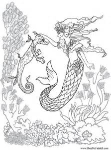 mermaid coloring pages for adults mermaid coloring pages for adults coloring pages