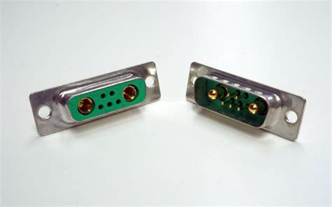 d sub combi connector 7pin socket rookie line