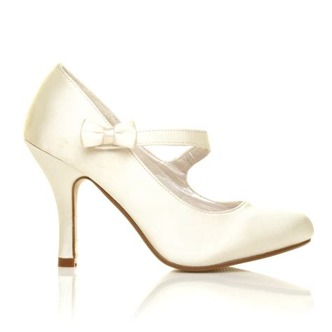 dress shoes ivory white ivory hi heel satin pumps womens