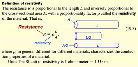 resistor definition in physics electric circuits