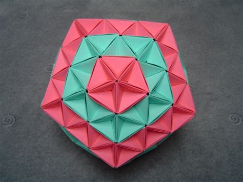 origami balls modular origami balls and polyhedra folded by michał