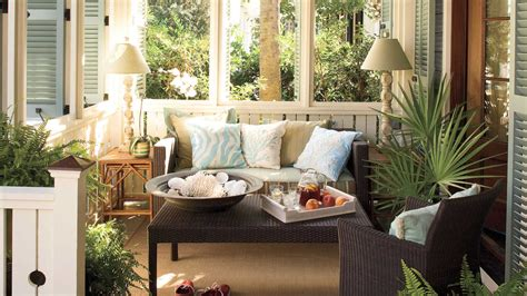 southern living decorating outdoor rooms southern living