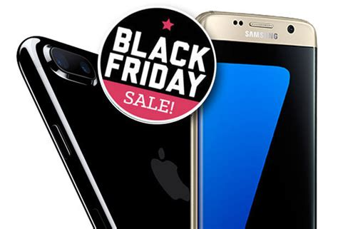 black friday 2016 apple iphone 7 and galaxy s7 getting price cut daily
