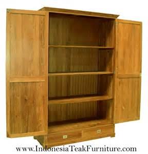 teak wood bedroom armoires