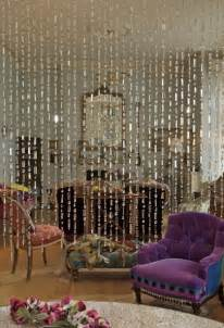 Beaded curtains give your living room a retro feel drapery room