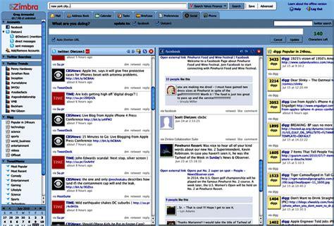 yahoo zimbra email zimbra desktop 7 2 7 internet tools downloads
