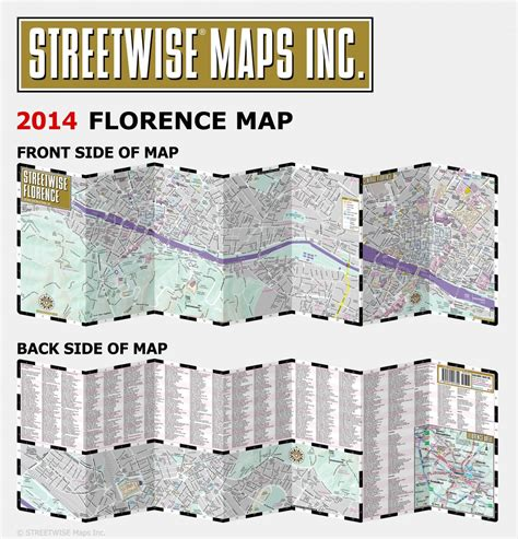 florence pocket map and 0241204577 buy florence streetwise map flagline
