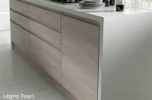 Handleless Bedroom Drawers Legno Pearl Handleless Wood Grain Effect Kitchen Doors