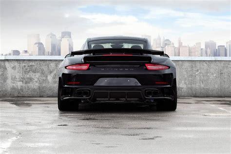 porsche 911 stinger black porsche 911 stinger gtr by topcar carz tuning