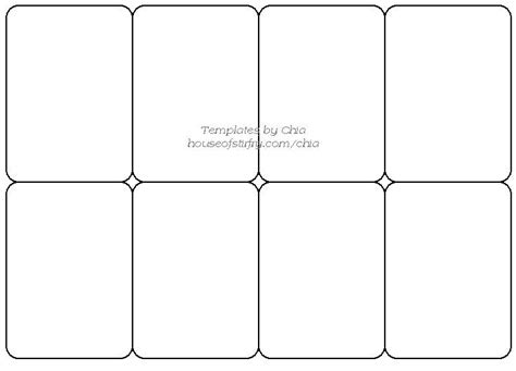 Blank Fingerprint Card Template by Templete For Cards Artist Trading Cards Tarot