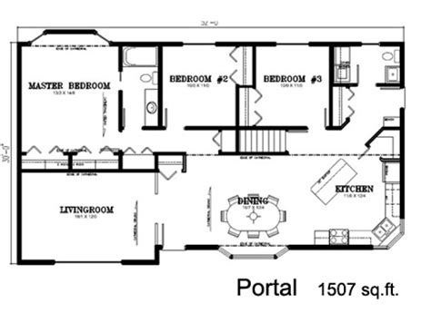 Deneschuk Homes Ltd Ready To Move Rtm Antler Home Plan 1500 To 1600 Square House Plans
