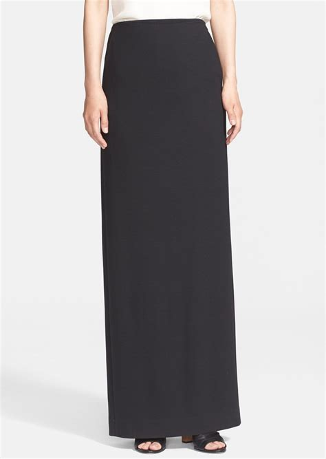 theory theory stretch jersey maxi skirt skirts shop it