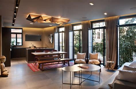 buddha themed living room tastefully decorated modern style villas to nature