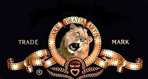 film lion trademark this is the famous trademark logo of the movie studio mgm