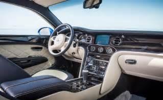 Bentley Mulsanne Interior 2015 Bentley Mulsanne Speed Interior Photo