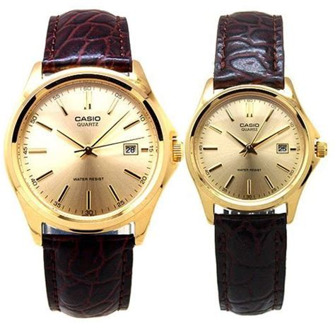 Casio Mtp 1183q 9a For buy casio leather with gold for and mtp ltp 1183q 9a watches uae