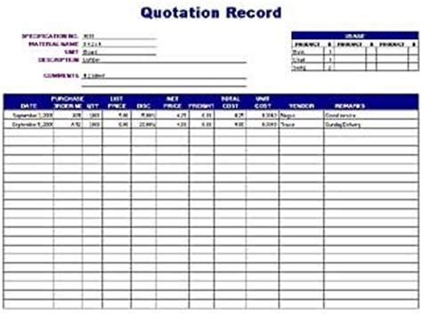 Dispute Register Template Quotation Record Log Free Layout Format
