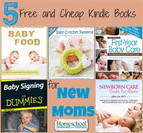Free Giveaways For New Moms - 5 free and cheap kindle books for new moms
