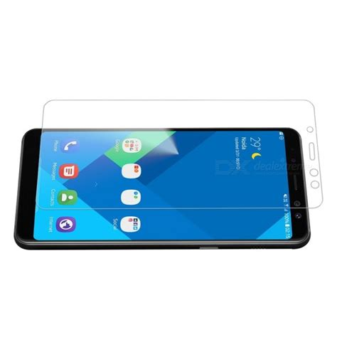Tempered Glass Samsung A8 Plus 2018 Cover Anti Gores Kaca 9h hardness tempered glass screen protector for samsung galaxy a8 plus 2018 free