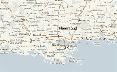 louisiana map hammond gu 237 a urbano de hammond louisiana