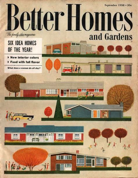 better homes and gardens homes better homes and gardens sept 1958 171 the mid century