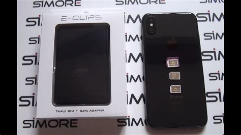 iphone  dual sim     numbers active    time  iphone  simore  clips box