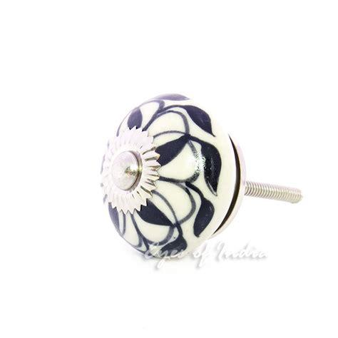 black and white ceramic cabinet knobs black white decorative ceramic cabinet dresser cupboard