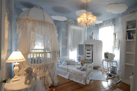 luxury baby bedroom somewhere over the rainbow nurseries in every color