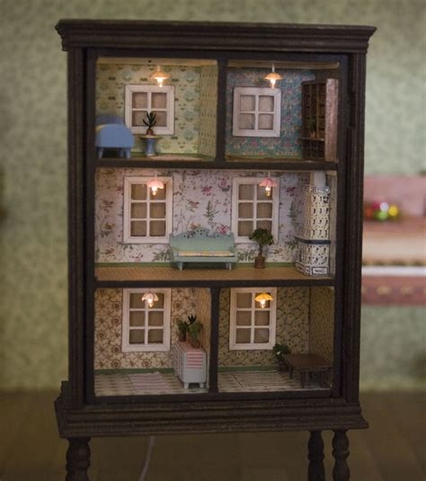 how to make a dolls house turn an old dresser into a doll house home design garden architecture blog magazine