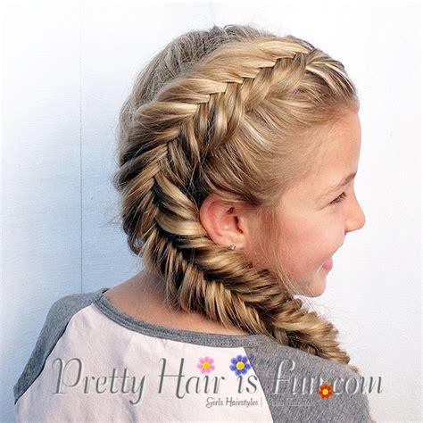 tutorial makeup natural ke kus pretty hair is fun side dutch fishtail braid pretty
