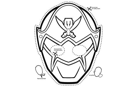 power rangers mask coloring pages free coloring pages of megaforce mask