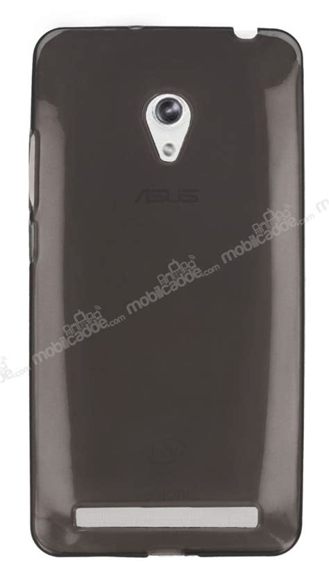 Silicon Asus Zenfone 6 asus zenfone 6 şeffaf siyah silikon kılıf mobilcadde